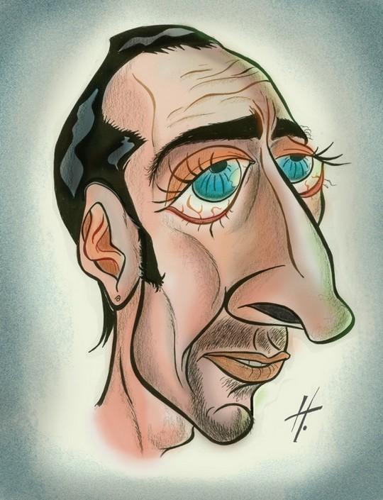 Николас Кейдж шарж