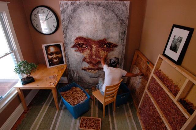 Пробоковые портреты Скотта Гундерсена