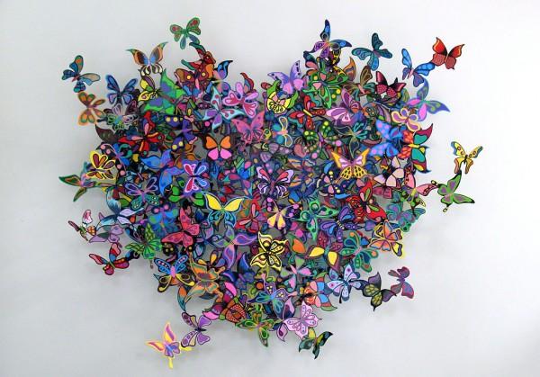 Красочные скульптуры Дэвида Крэков