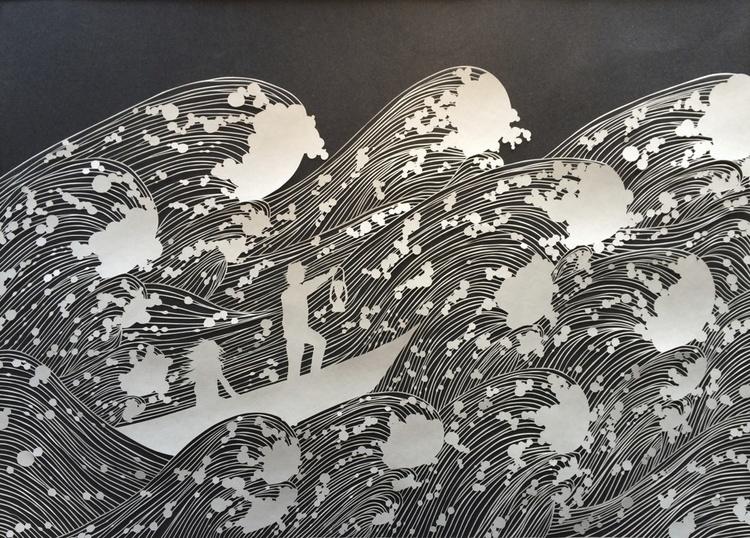 Резьба по бумаге художницы Мод Уайт