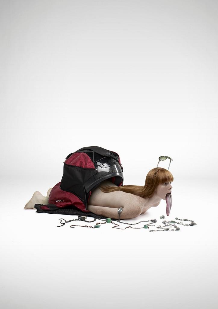 Рекламные фотоманипуляции от Romain Lauren