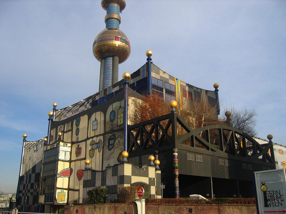 Теплоэлектроцентраль Шпиттелау Хундертвассера