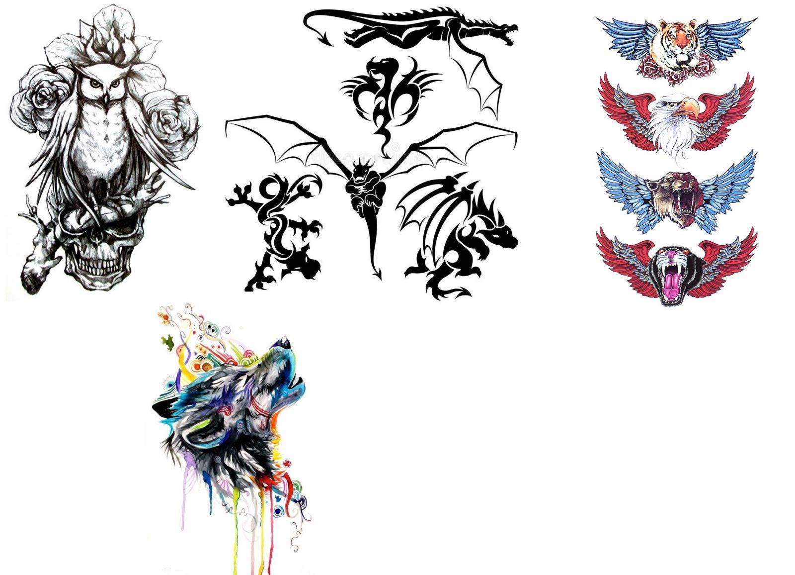Оригинальные эскизы тату