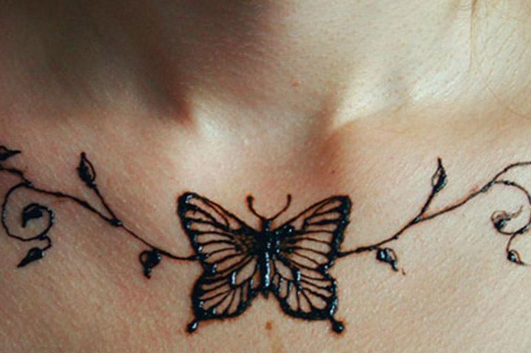 Изображения с бабочкой хной