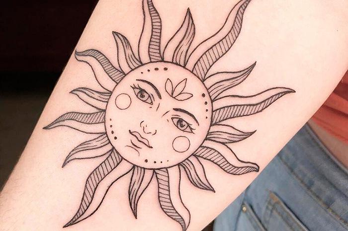 Символы с солнцем