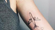 Тату самолет