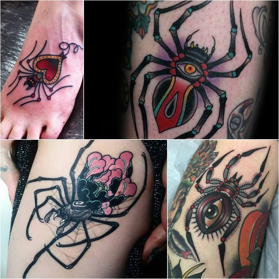 Цветы с пауком