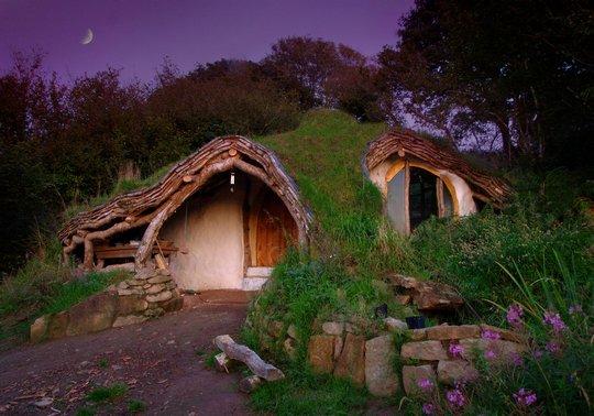 46. Земляной домик. Уэльс, Великобритания