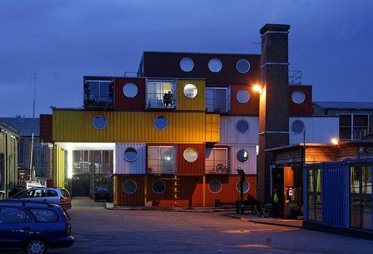 49. Дома из контейнеров. Лондон, Англия