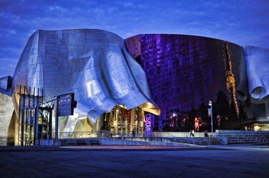 Центр музыки в Сиэтле, США