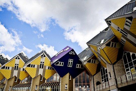 Кубические дома. Роттердам, Нидерланды