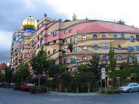 Лесное спиральное здание. Дармштадт, Германия