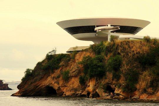 Музей современного искусства. Нитерой, Бразилия