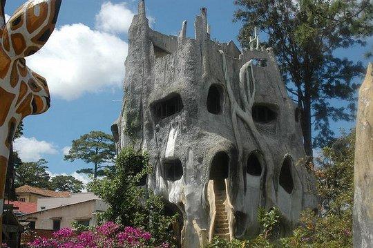 Отель Hang Nga «Дом сумасшедших». Вьетнам