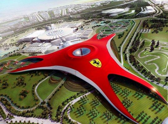 Парк развлечений «Ferrari World» в Абу-Даби