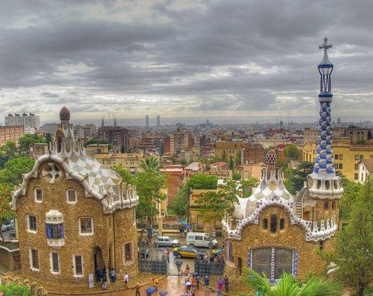 Пряничные домики. Барселона, Испания