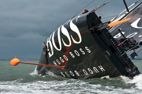 «Босс под парусами», фото: ALEX THOMSON RACING