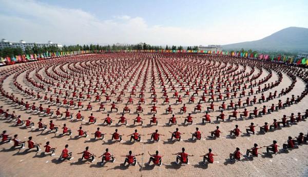 «Кунг-фу для всех», фото: China Foto Press