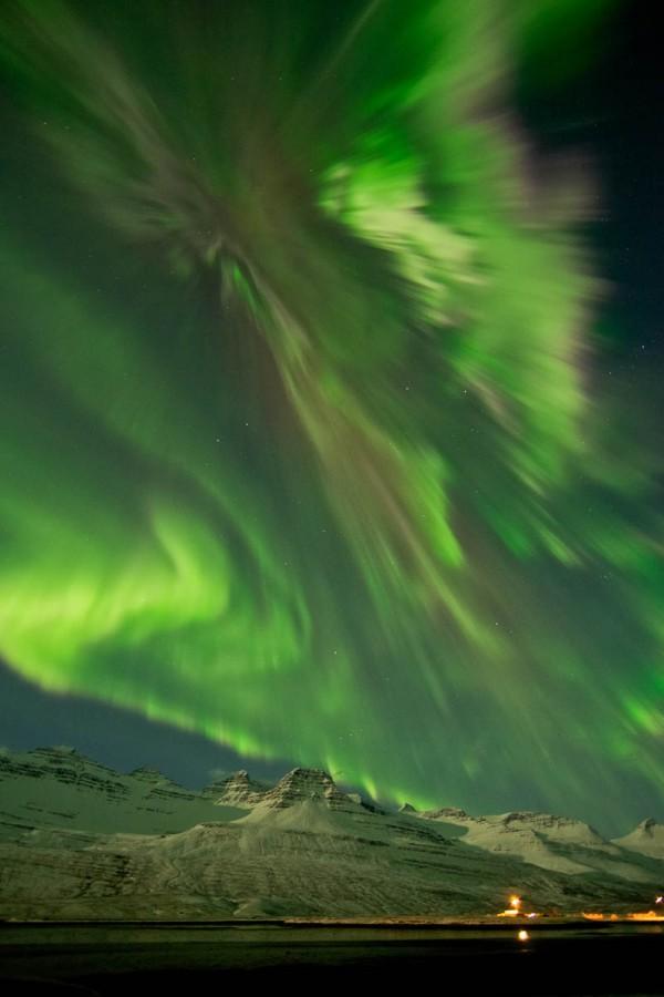 «Полярное сияние», фото: Jónína Óskarsdóttir (для NASA)