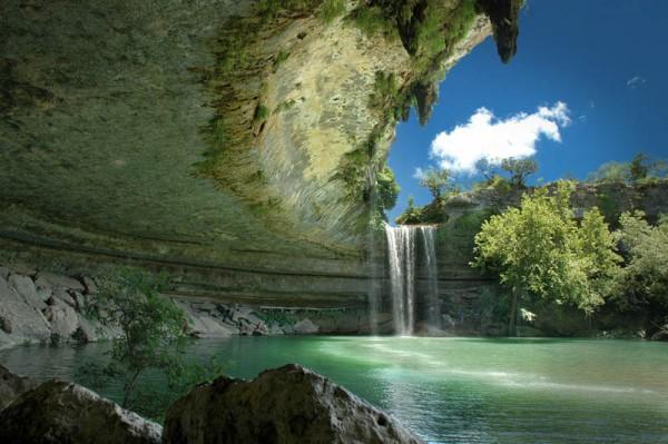 «Подземное озеро Гамильтон Пул в Техасе», фото: DAVE WILSON