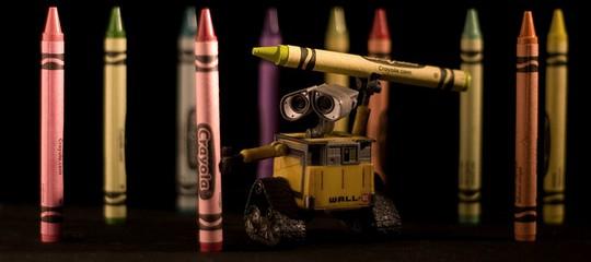 Валли с карандашами