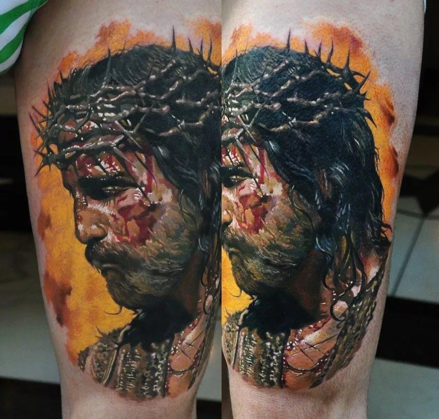 татуировка изображение лиц