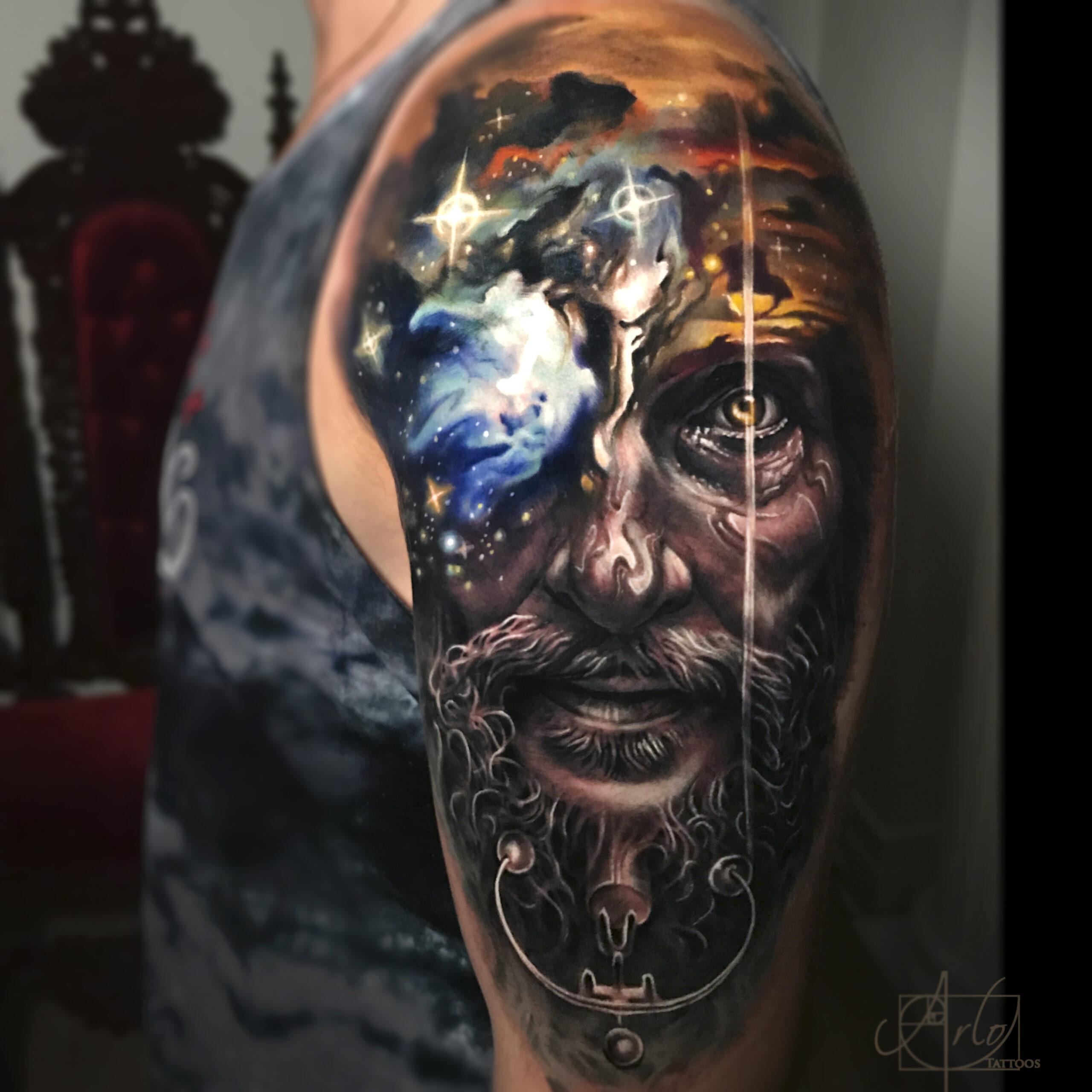 татуировки реалистичные на руке