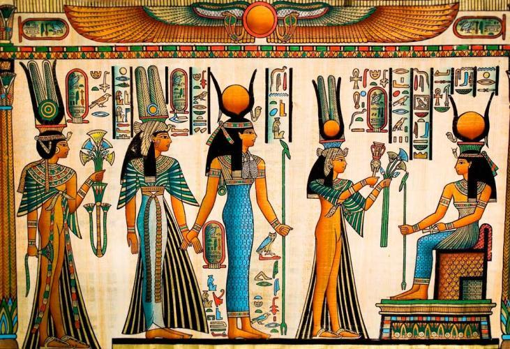 фреска египетская культура