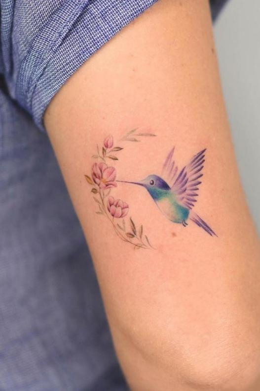 Маленькая колибри
