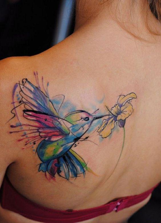 Нежная татуировка