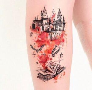 тату «Гарри Поттер»