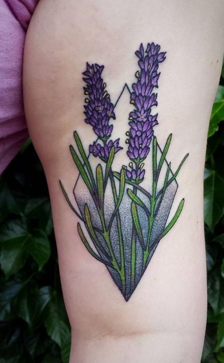 Один из вариантов татуировки