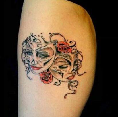 Изображение выглядит как татуировка Автоматически созданное описание