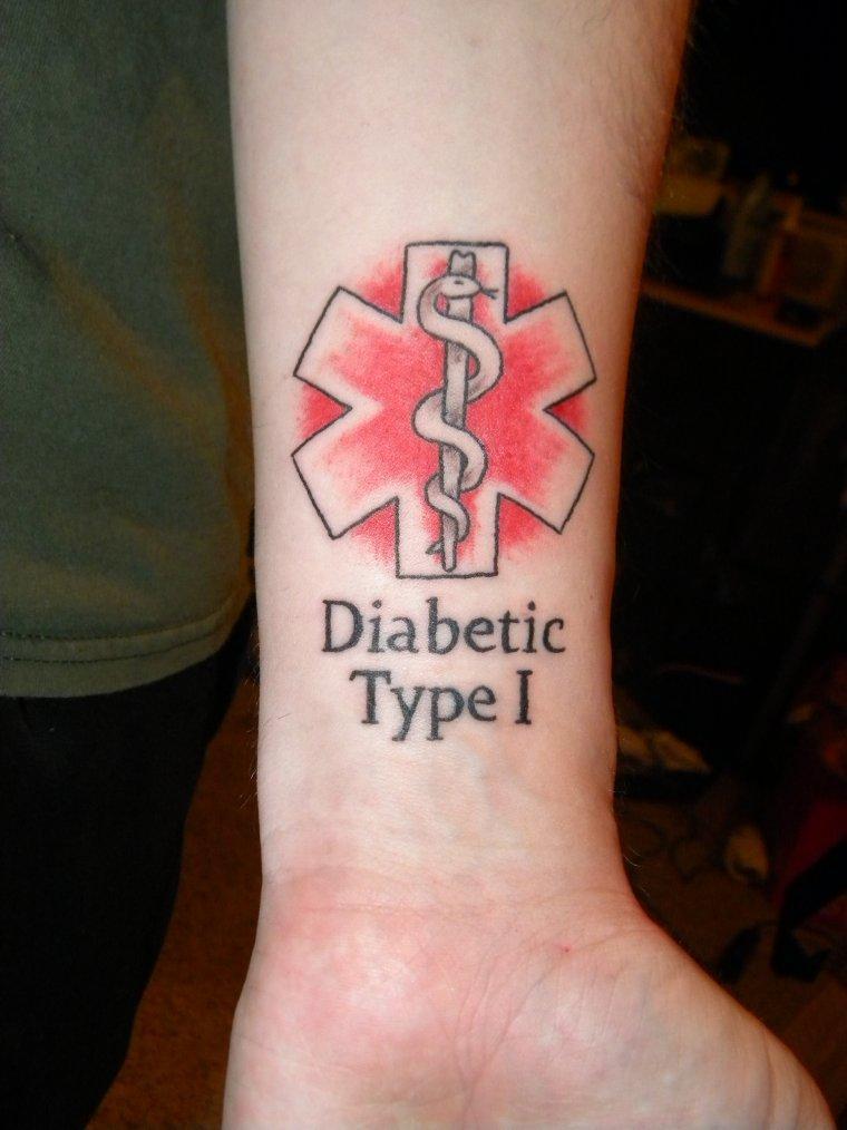 Тату диабет