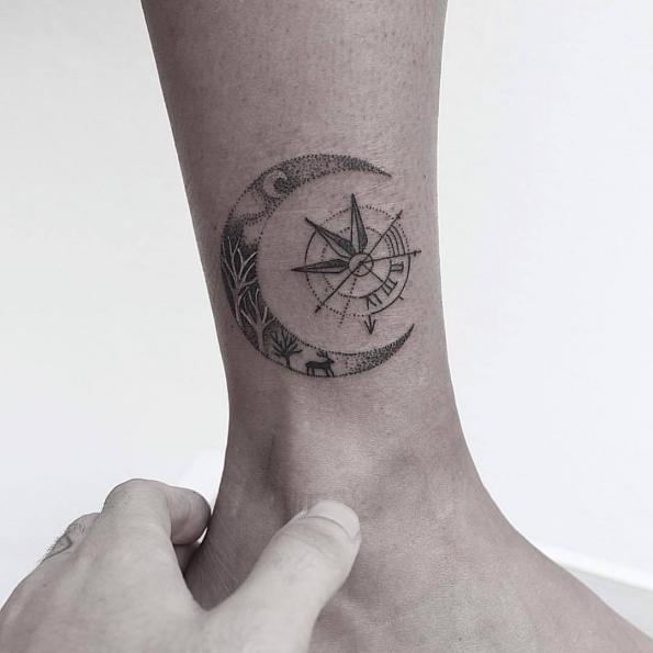 Татуировка Полумесяца
