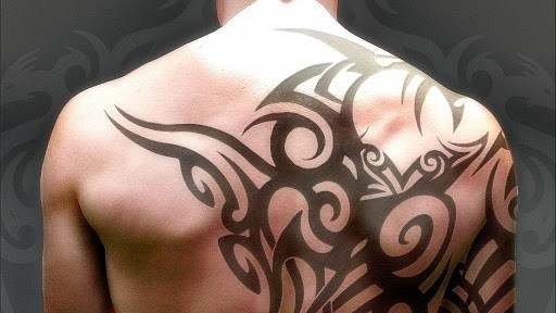 Трайбл тату – абстрактные племенные татуировки