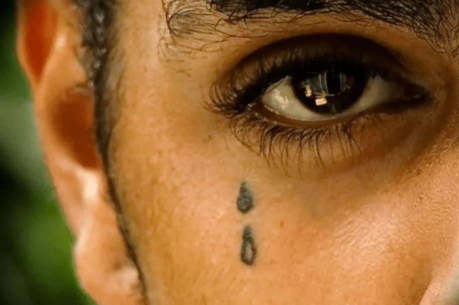Рисунок слезы