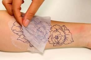 Подготовительные этапы для нанесения тату
