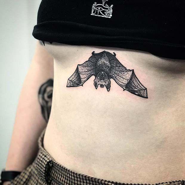 татуировка спящей мыши