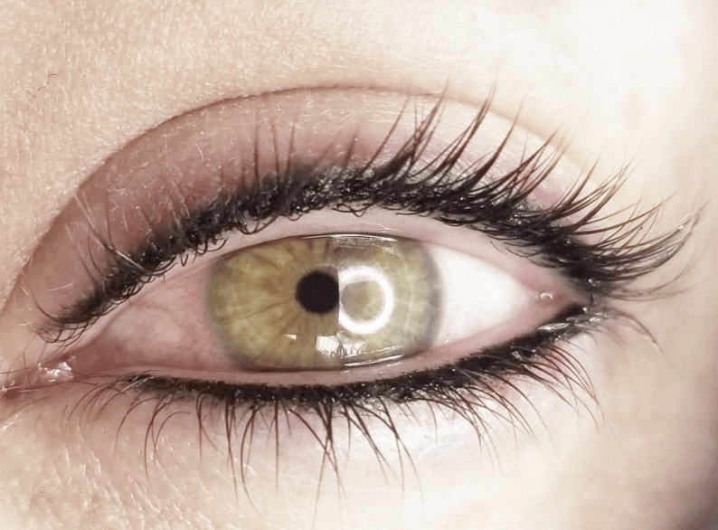 татуаж глаз: Татуаж нижнего века