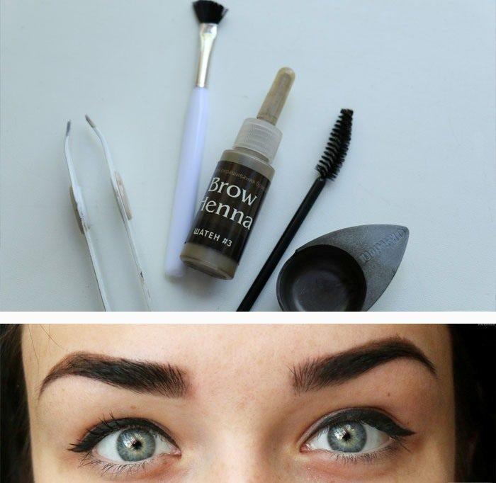 Henna brow
