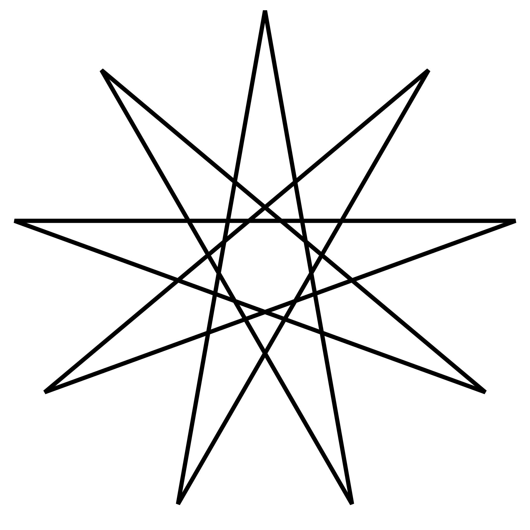 эскиз тату звезды